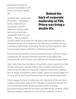 Background article - Erik Prince in the hot seat  (5)